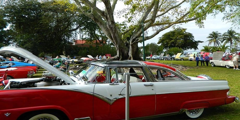 Annual Edison Fort Antique Car Show Fort Myers Traum Urlaub Florida
